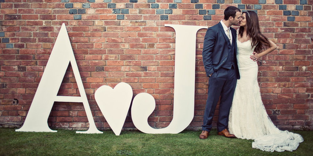 RR_large_letters_initials_bride_groom_hire_wedding_event